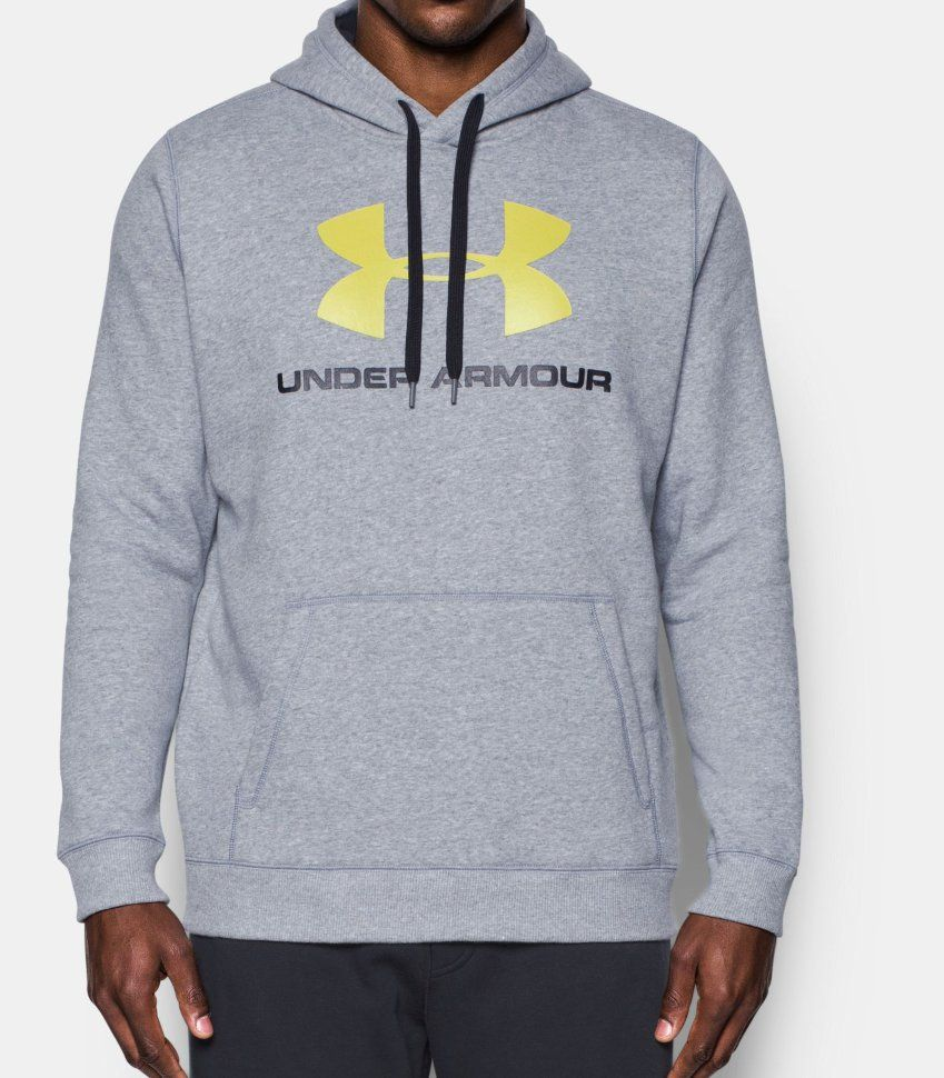Толстовка Under Armour Rival Fitted Graphic Hoodie