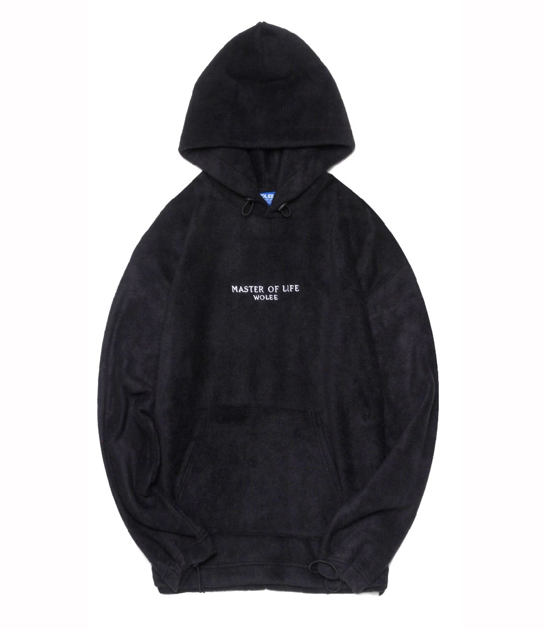 "Худи WOLEE ""Fleece"" Black"