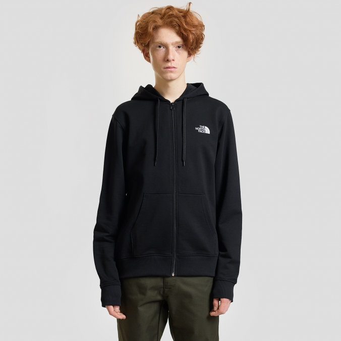 Толстовка THE NORTH FACE M OPEN GATE FZHD LHT TNF BLACK