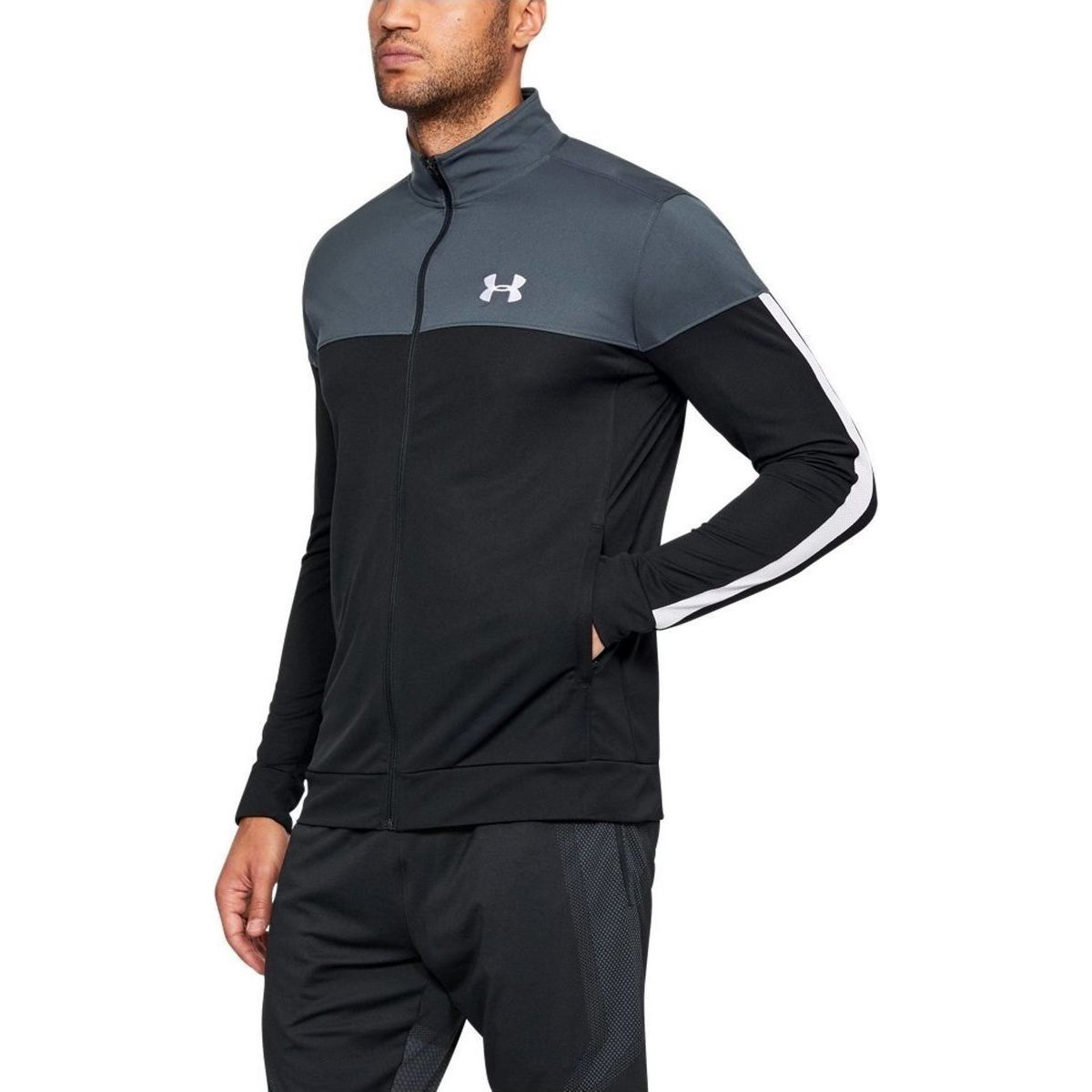 Толстовка Under Armour SPORTSTYLE PIQUE JACKET